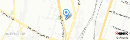 Яшма на карте Челябинска