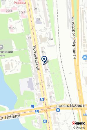 ФИРМА ГИПЕРИОН на карте Челябинска