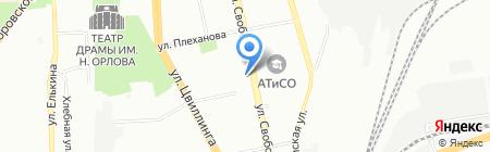 Ткани74.ru на карте Челябинска