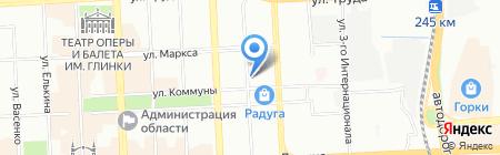 Пром-климат на карте Челябинска