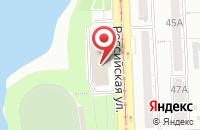 Схема проезда до компании Реал-Медиа в Челябинске