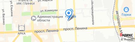 РСТК на карте Челябинска