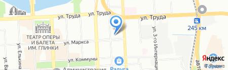 Соня на карте Челябинска