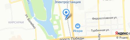 Оргстекло-Ас на карте Челябинска