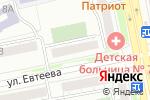 Схема проезда до компании Бульдог в Челябинске