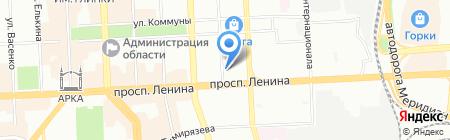 Банкомат БАНК УРАЛСИБ на карте Челябинска