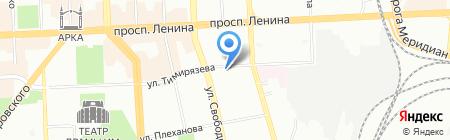 Статус на карте Челябинска