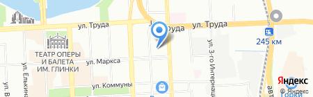 ЧелябСтеклоПром на карте Челябинска