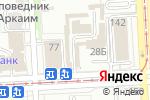 Схема проезда до компании Магазин постельного белья в Челябинске
