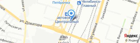Газстройсервис на карте Челябинска