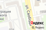 Схема проезда до компании Рада в Челябинске