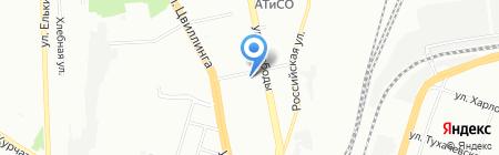 Челябинский аудит на карте Челябинска