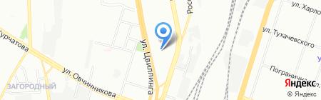 Installyator на карте Челябинска