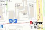 Схема проезда до компании Рулевой-Шинавтотех в Челябинске