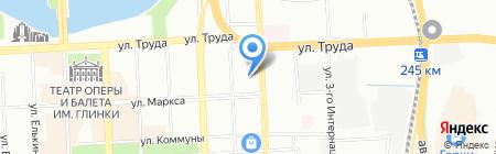 Жалюзи на карте Челябинска