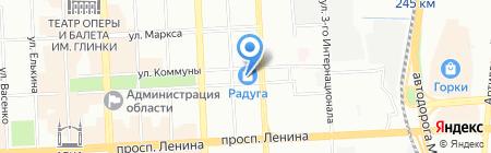 Сапсан-Энерго на карте Челябинска