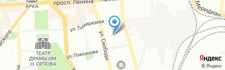 Финансово-правовая защита на карте Челябинска