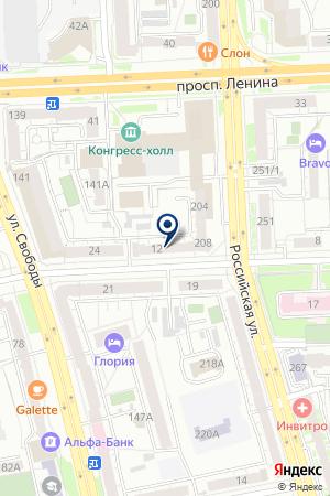 САЛОН КРАСОТЫ БУДУАРЪ на карте Челябинска