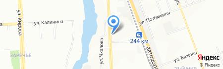 ПСП на карте Челябинска