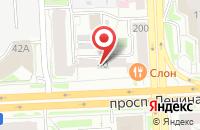 Схема проезда до компании Уральский Медиа Центр в Челябинске