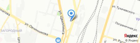 Плант на карте Челябинска