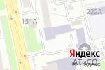 Схема проезда до компании Форевер Ливинг Продактс в Челябинске