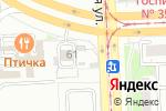 Схема проезда до компании Сеть шиномонтажных мастерских в Челябинске