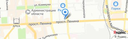 Веста на карте Челябинска