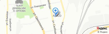 Мясопродукты на карте Челябинска