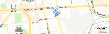 БЮРО ЭКОНОМИЧЕСКИХ СТРАТЕГИЙ на карте Челябинска