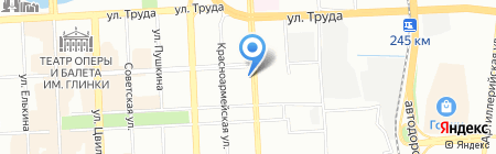 Энерготехника на карте Челябинска