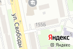 Схема проезда до компании Канцсити в Челябинске