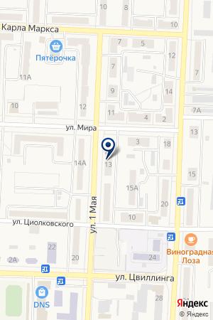 МАГАЗИН АВТОЗАПЧАСТИ на карте Коркино