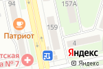 Схема проезда до компании Транспортная книга в Челябинске