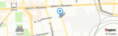 Медико-генетическая консультация на карте Челябинска