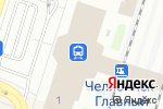 Схема проезда до компании ВИП Сервис в Челябинске