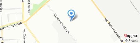 Орто на карте Челябинска