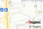 Схема проезда до компании Автостоянка в Челябинске