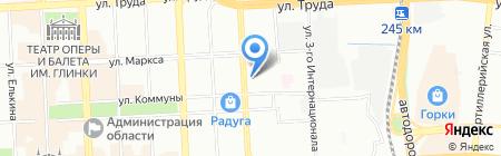 Фабрика подарков на карте Челябинска