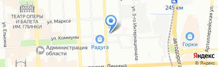 НордАква на карте Челябинска