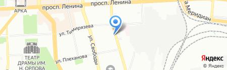 Capelli на карте Челябинска