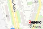 Схема проезда до компании Юность в Челябинске