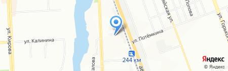 Риола на карте Челябинска