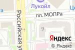 Схема проезда до компании Облако в Челябинске