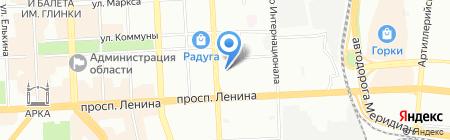 Женская консультация на карте Челябинска