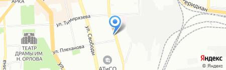 Свежий ветер на карте Челябинска