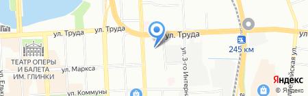Биллион на карте Челябинска