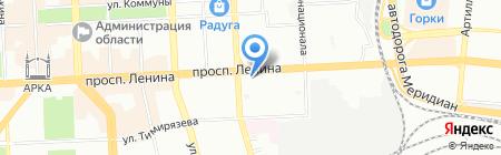 Кодаш на карте Челябинска