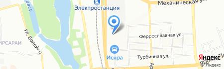Автостекло74 на карте Челябинска
