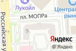 Схема проезда до компании Быстрая служба в Челябинске